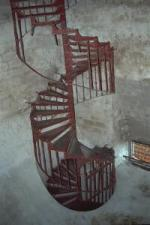 Stairway down to War Room